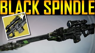 Destiny - HOW TO GET BLACK SPINDLE!