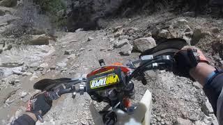MOTO 21 Rd. Hunter Canyon KTM 200exc 450 xcf   GoPro