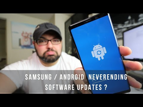 Software Update Keeps Popping Up? Samsung Android - Messy Desk
