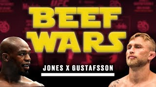 Beef Wars! Jon Jones Vs. Alexander Gustafsson 2, Who Comes Out on Top This Time?