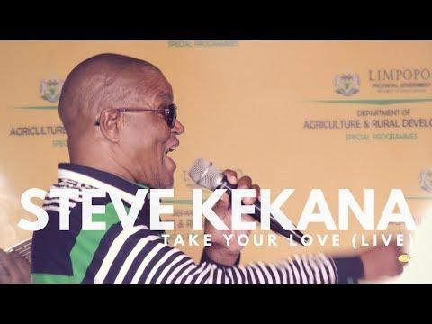 STEVE KEKANA-TAKE YOUR LOVE  (LIVE) PDARD2017