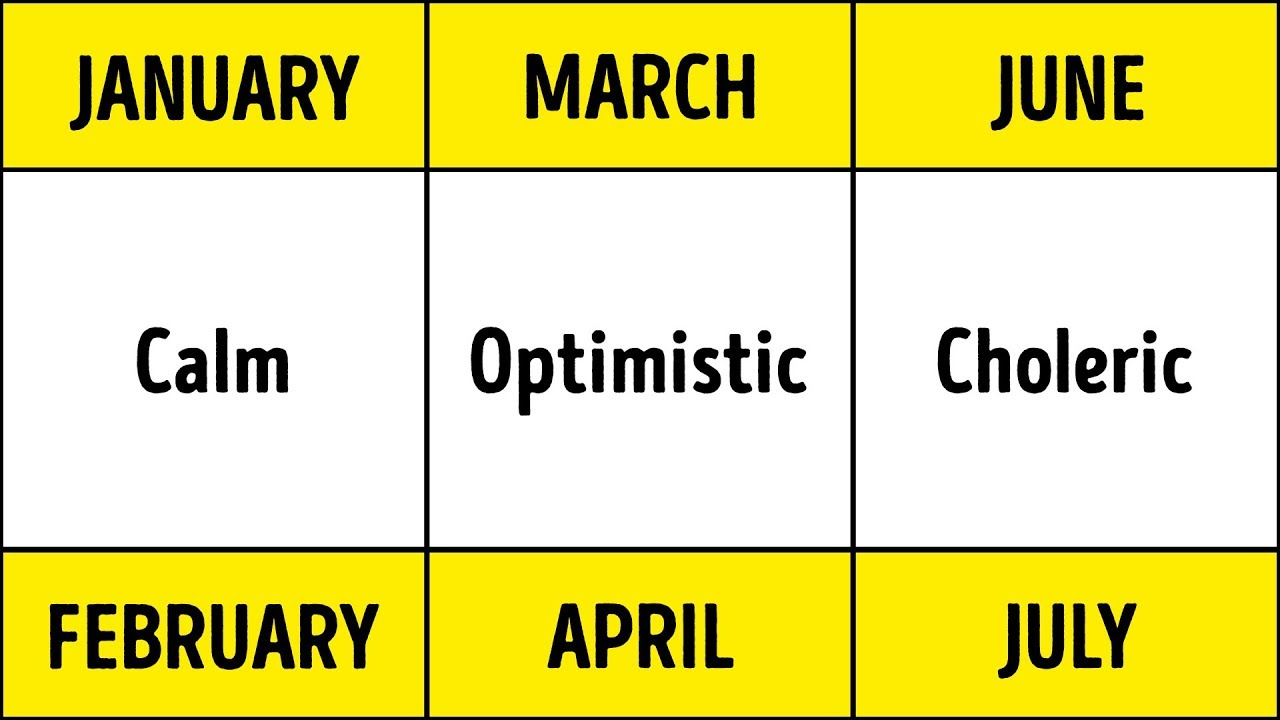 Scientists Prove Your Birth Month Defines Your Health And