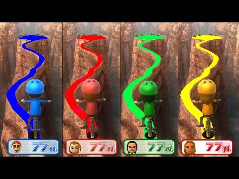 Wii Party U Minigames - Mario Vs Polly Vs Jonh Vs Elena (Master Difficulty)
