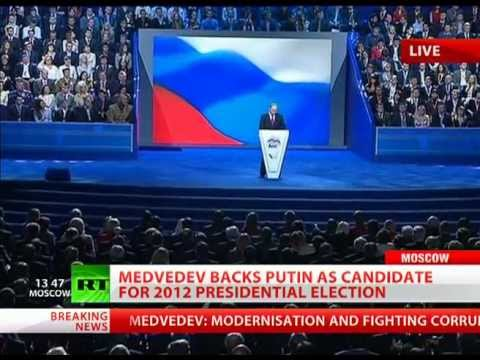 'Nothing can stop us' - Putin addresses United Russia congress