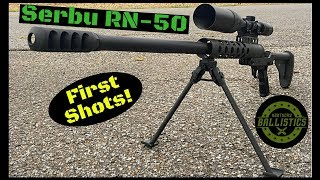 Serbu RN-50 (First Shots)