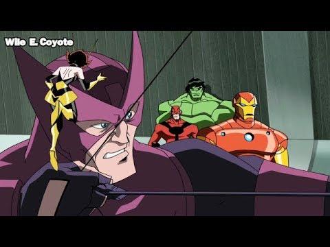 El Tiro Imposible de Hawkeye ♦ Los Vengadores los Heroes mas Poderosos del Planeta