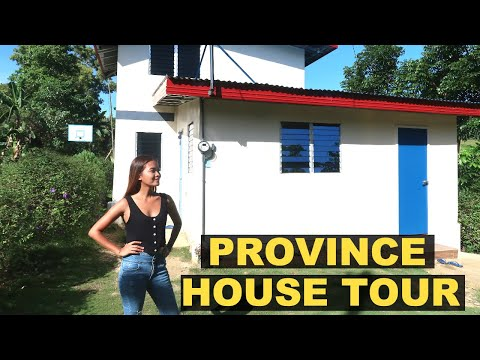$2000 HOUSE TOUR In the PROVINCE PHILIPPINES| Simple Province Life