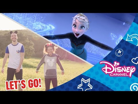 Let's Go! | All the Sports!⚽ 🏀 🎾 | Official Disney Channel Africa
