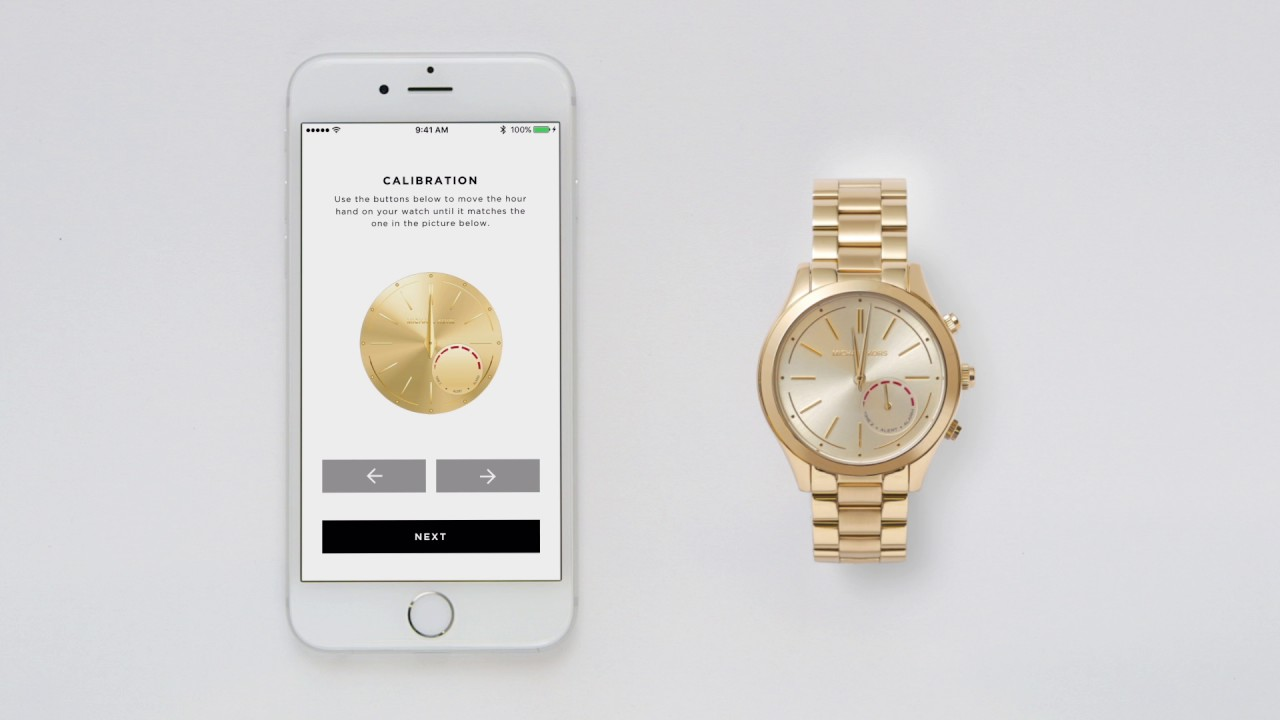 6b0a576fe519 Michael Kors Access Hybrid Smartwatch   Set-up and Functionality ...
