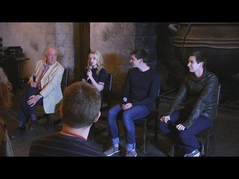 Special Q&A with stars of Harry Potter film series during Ce