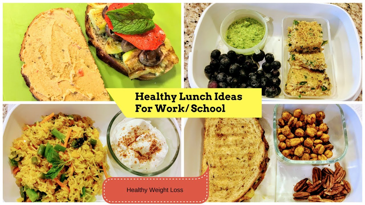 4 Healthy Indian Lunch Breakfast Ideas For School Work Part 3 Ll Weight Loss Recipes
