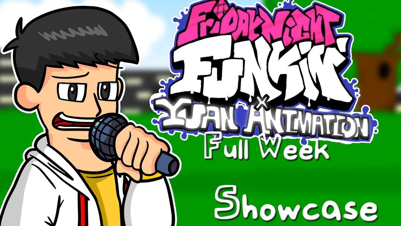 Download Friday Night Funkin' x Yuan animation Mod [FULL WEEK] Showcase