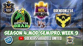 LIVE. NDL SEMI PRO. WEEK9 / COSTA RICA DRAK VS. BRENDON1234. Clash of Clans