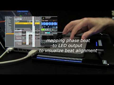 VMeter: USB MIDI Touch Strip Controller & Display
