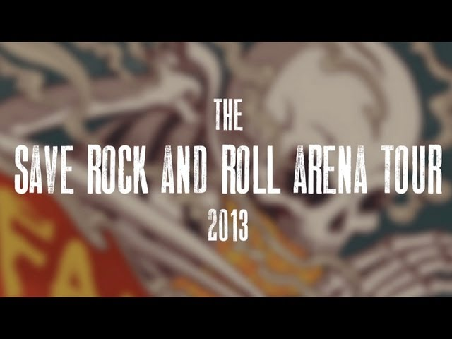 Fall Out Boy - Save Rock And Roll Fall Arena Tour - [Panic! At The Disco support Announcement]