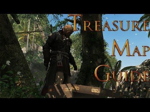 Assassins Creed 4 Black Flag Treasure Map 749, 625 Gibara (Reward: Serpent Figurehead)