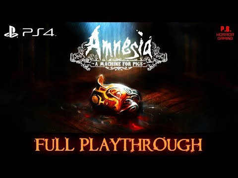 Amnesia : A Machine for Pigs [PS4]   Full Playthrough   Longplay Gameplay Walkthrough No Commentary
