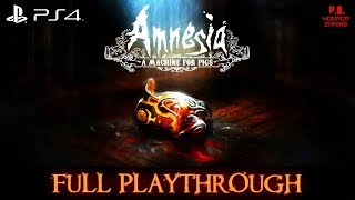 Amnesia : A Machine for Pigs [PS4] | Full Playthrough | Longplay Gameplay Walkthrough No Commentary