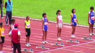 土城國小 田徑隊參加新北市101年國小區域田徑賽女童60公尺決賽2.mpg