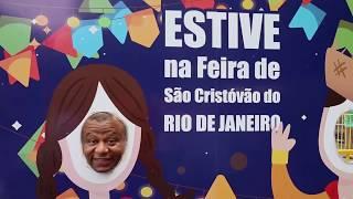 Rolé na Feira de São Cristóvão com a FM O Dia