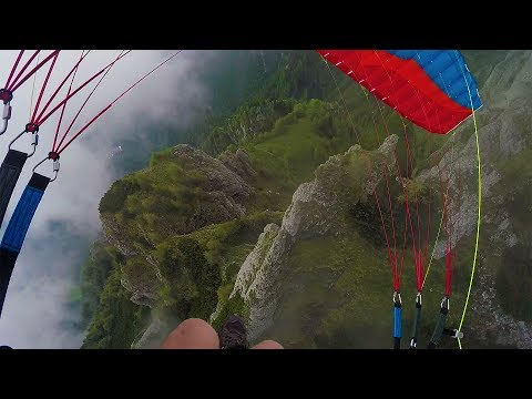 GoPro Awards: Speedflying Through Fog with Jamie Lee