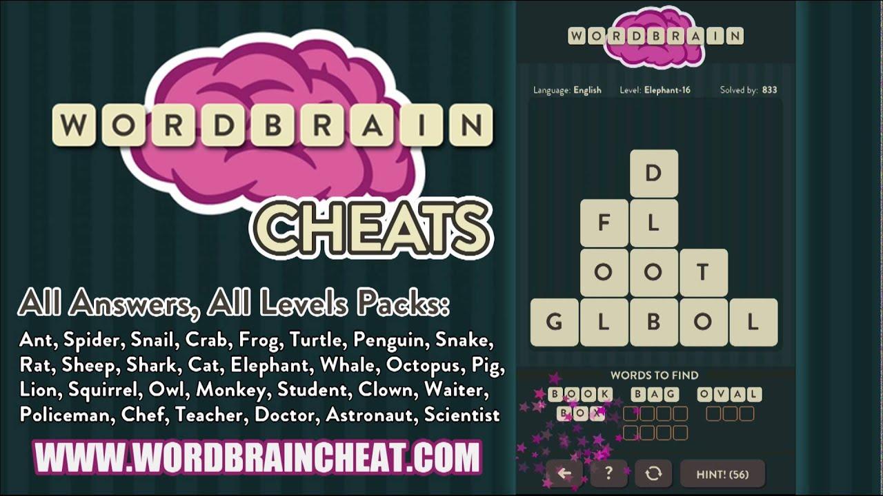 WordBrain Elephant 16 ...