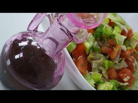 Salata Sosu Tarifi ve Malzemeleri
