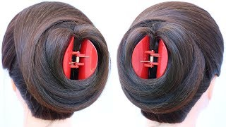 new latest juda hairstyle with help of clutcher || easy hairstyle || hairstyle for long hair