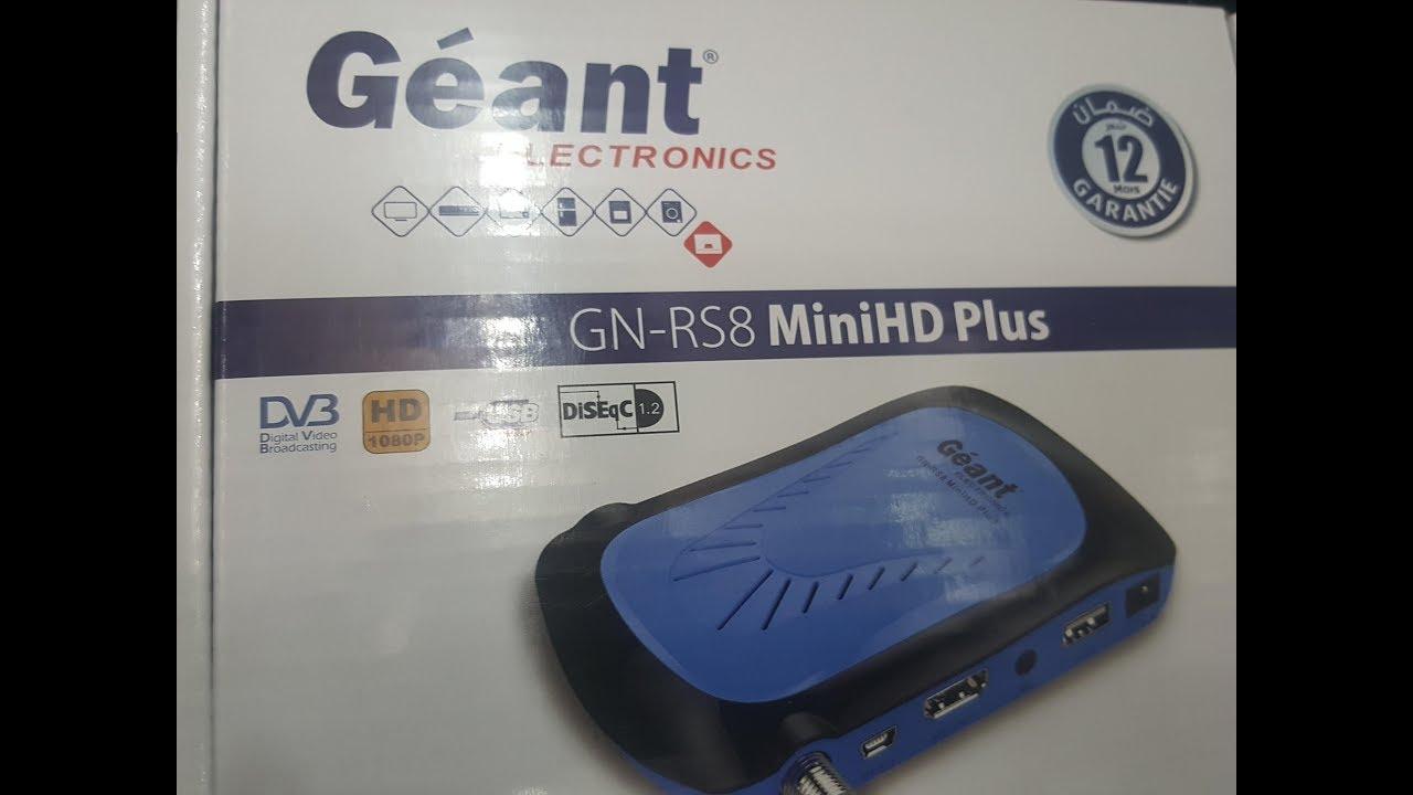 mise a jour geant gn-rs8 minihd plus