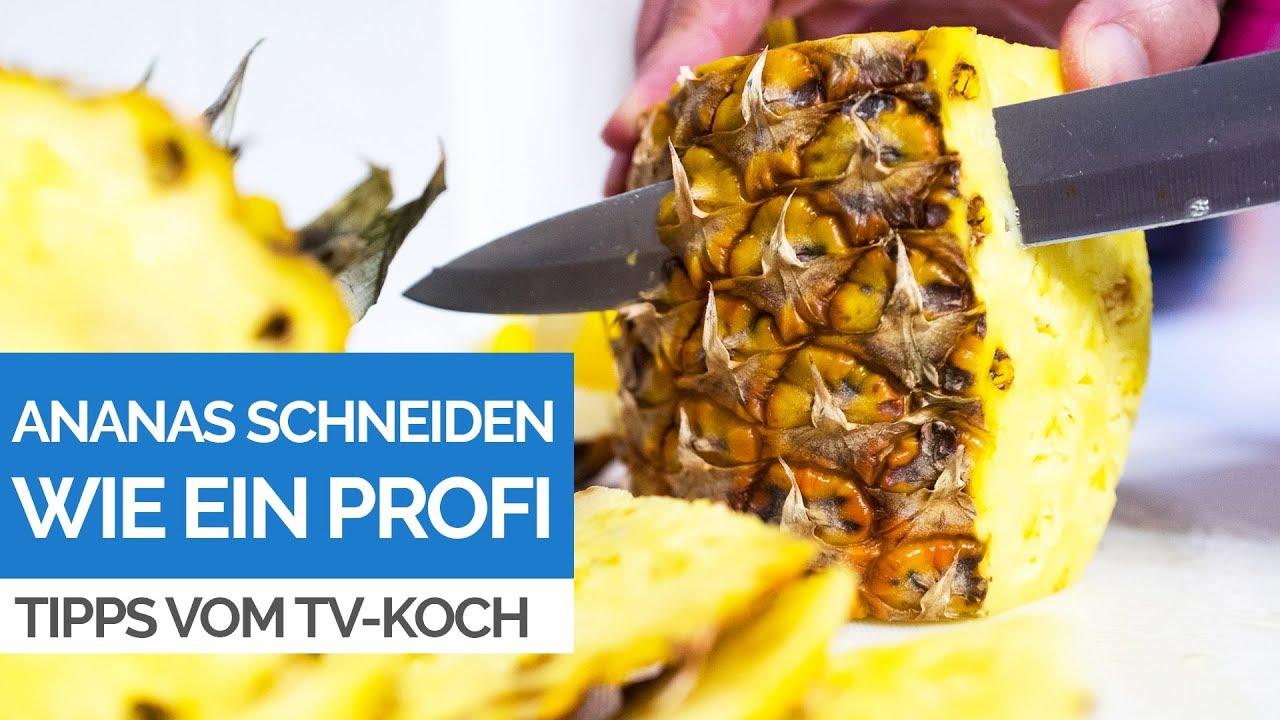 Reife Ananas Erkennen