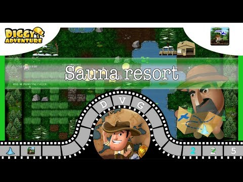 [~Scandinavia Father~] #5 Sauna Resort - Diggy's Adventure