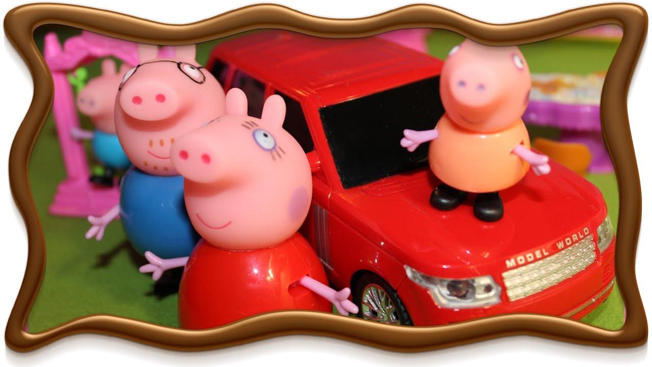мультики свинка пеппа все серии подряд без остановки