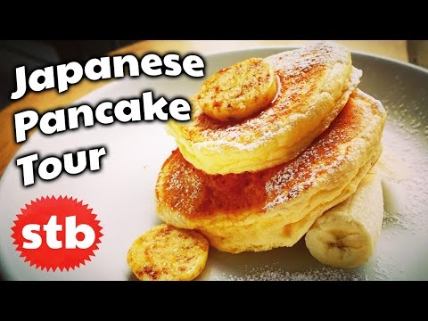 Japanese Pancakes AND Japanese Hotcakes // Tokyo Desserts Breakfast at Bills and Rainbow in Japan