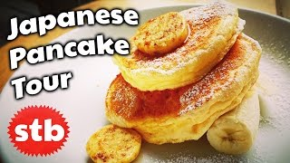 Japanese Food: Pancakes Tour in Tokyo // SoloTravelBlog