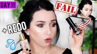 FAIL.. + *New* ESTEE LAUDER DOUBLE WEAR NUDE {First Impression Review & Demo!} 15 DAYS OF FOUNDATION