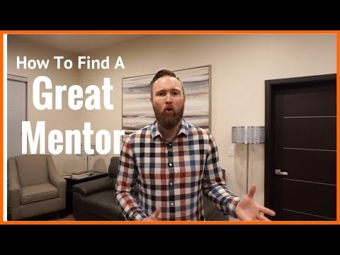 How To Find A GREAT Mentor In 4 Simple Steps