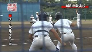 【2015夏・高校野球埼玉大会チーム紹介】浦和学院高等学校