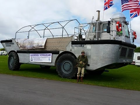 Amphibious Landing Craft Southport Festival of Transport 2015