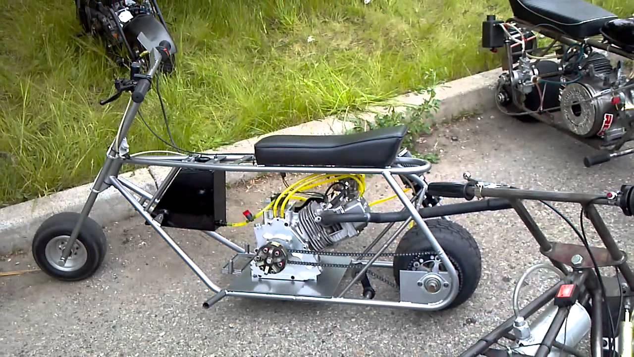 Fast Mini Bikes In Detroit Prt 4 Youtube
