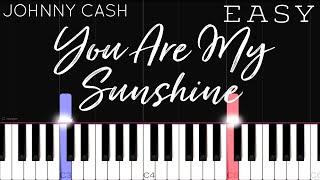 You Are My Sunshine - Moira Dela Torre, Johnny Cash | EASY Piano Tutorial