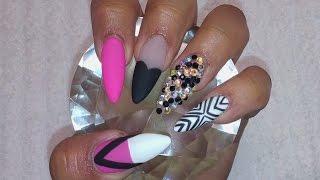 Uñas acrilicas matte / Acrylic nails & Gel matte