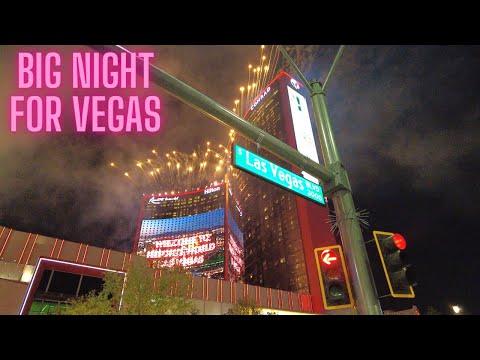 Resorts World Las Vegas Opening - Fireworks, Big Night For Vegas
