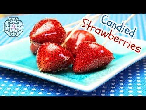 Candied Strawberries (딸기 사탕, DdalGi SaTang)   Aeri's Kitchen