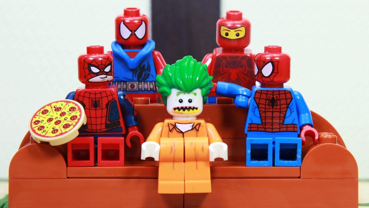 Download Lego Prison Break Spiderman Vs Joker | Lego Stop Motion