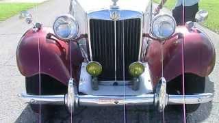 1952 MG TD , ORIGINAL ZUSTAND , OLDTIMER ,US CAR IMPORT, SOLD!