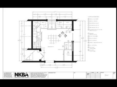 Kitchen And Bath Drawing Floor Plan