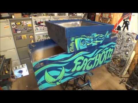 Bally Fathom Pinball Machine Restoration