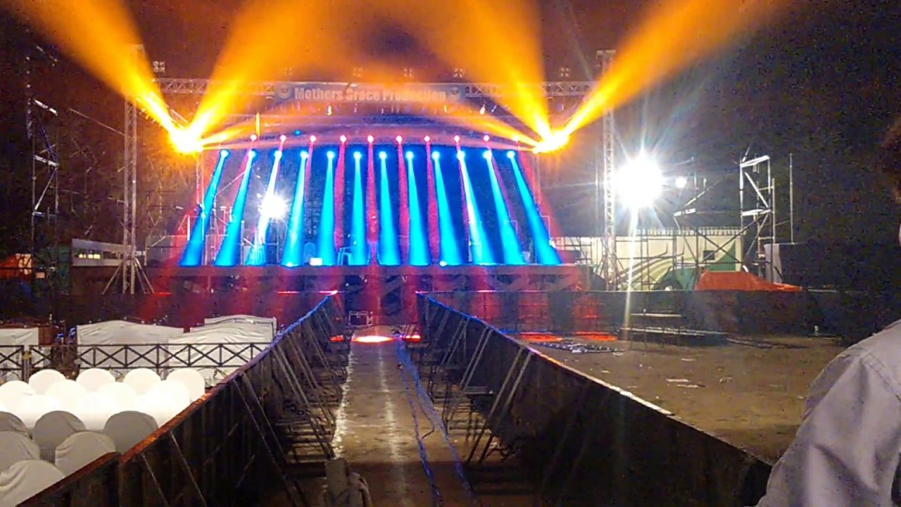 lighting technician. arijit singh live concert thane lighting technician aakash pandit part2