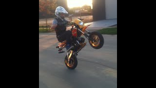 Pit Bike Stunting Montage 50cc Golden edition