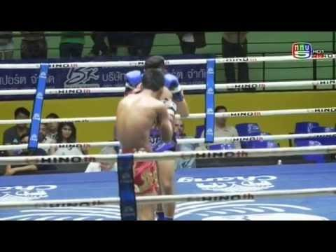 Professional Muay Thai Boxing from Lumphinee Stadium on 2014-12-27 at 11 pm